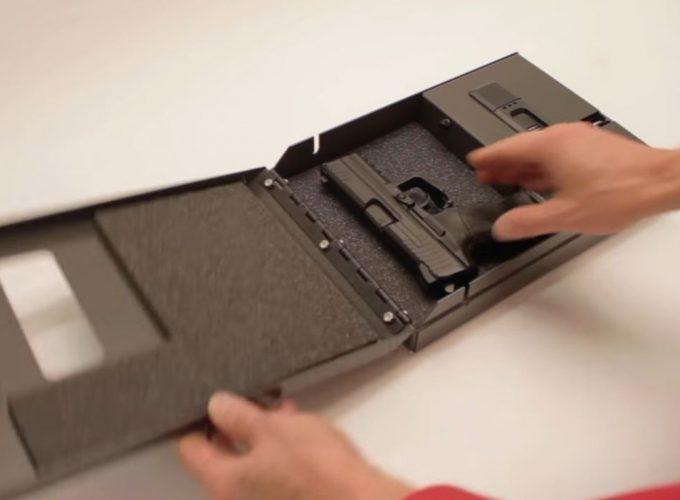 biometric gun safe walmart