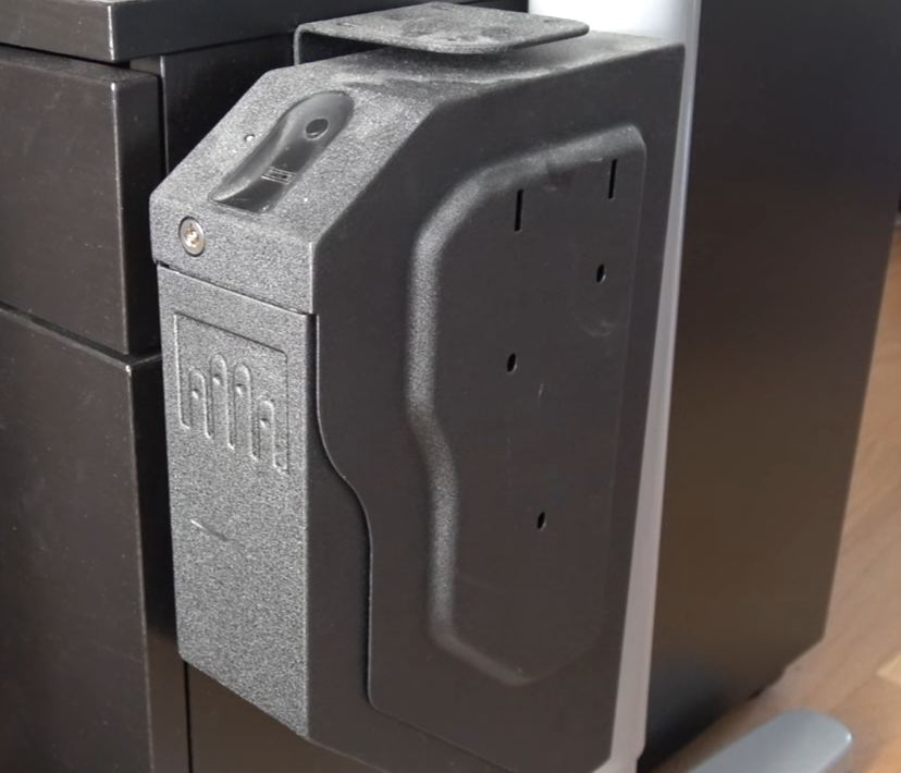biometric gun safes for car