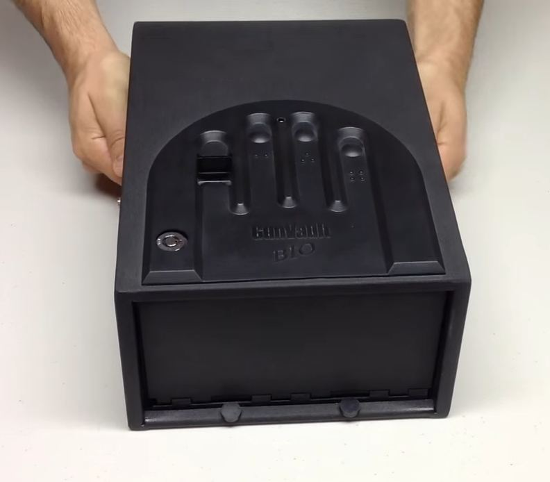 biometric hand gun safe