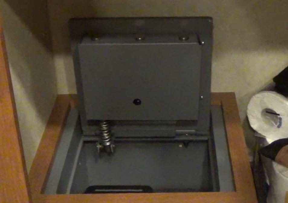 Fireproof floor safes for the home gurus floor for Hidden floor safes for the home