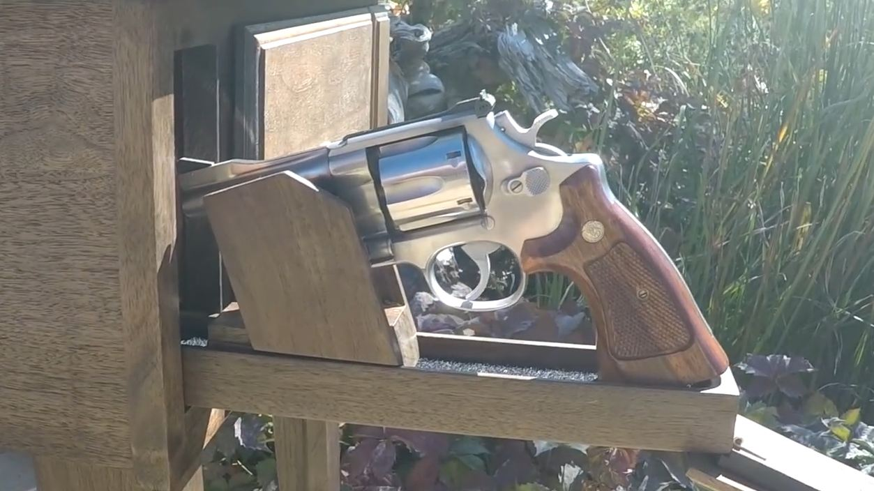 hidden safes for guns
