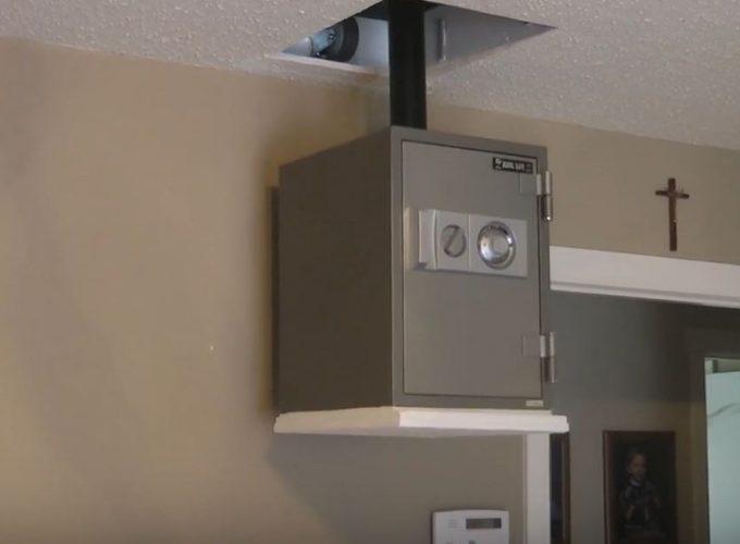 hidden safes in houses