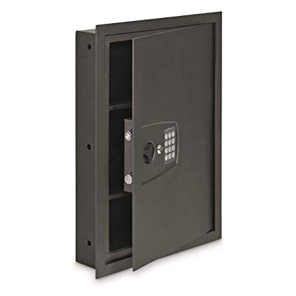 in wall safe