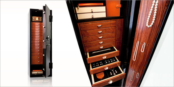 jewelry safes with drawers