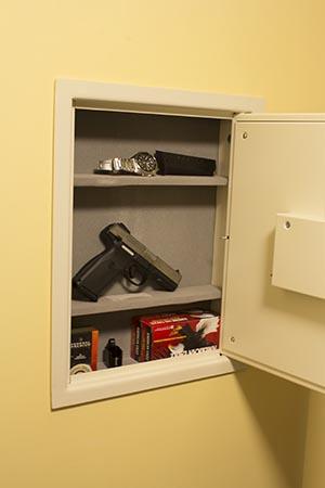 wall safes between studs