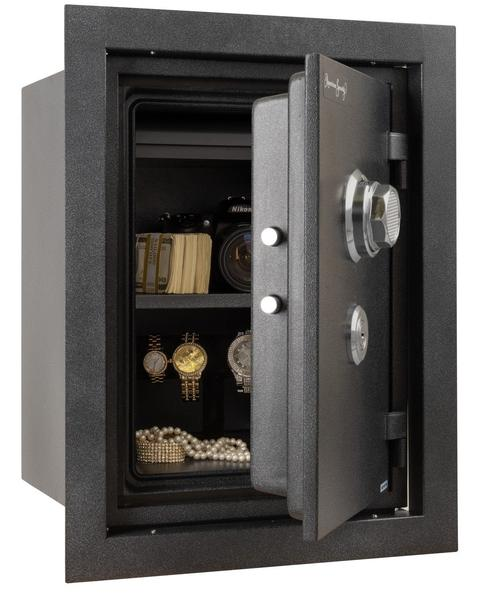 in wall safe fireproof_41
